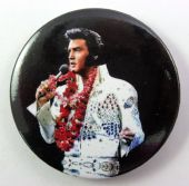 Elvis Presley - 'Singing' 56mm Badge
